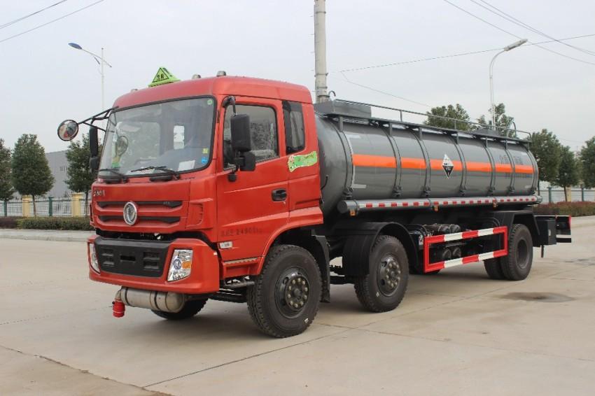 润之星牌SCS5250GFW东风特商硝酸运输车