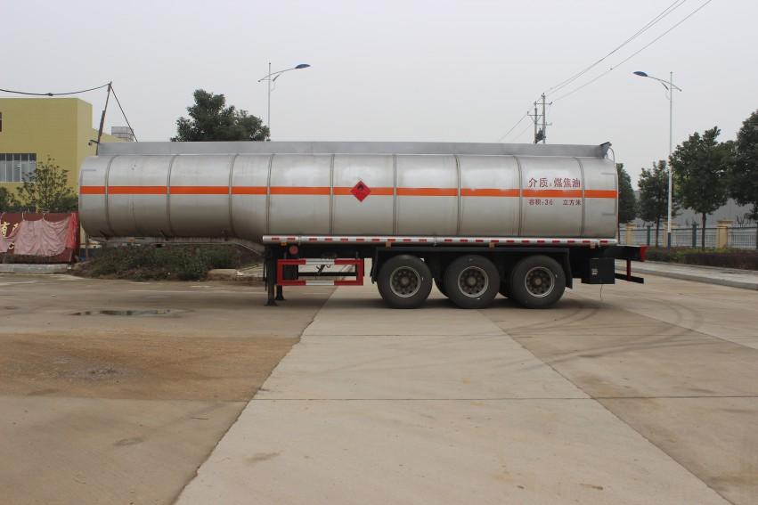 润之星牌SCS9400GRY煤焦油运输半挂车