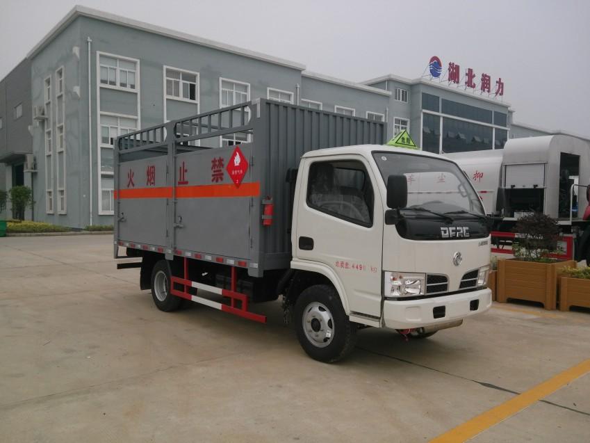 润之星牌SCS5040TQPD东风多利卡气瓶运输车