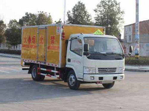 润之星牌SCS5040XRYEV国五易燃液体厢式运输车