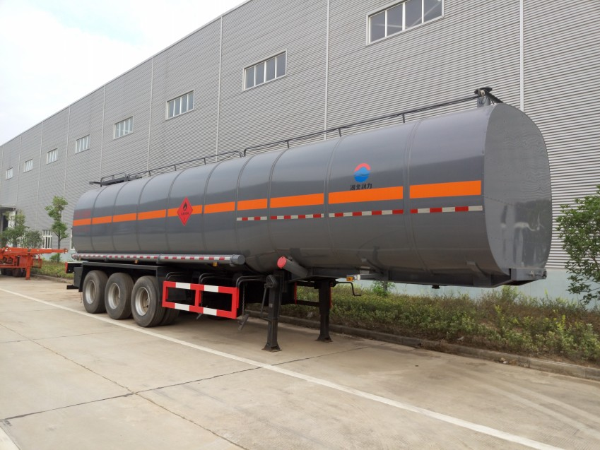 润之星牌SCS9400GLY沥青运输半挂车(40方)