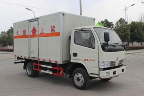 润之星牌SCS5041XRQEV东风多利卡国五易燃气体厢式车