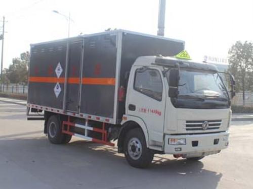 润之星牌SCS5110XDGEQ毒性和感染性物品厢式运输车