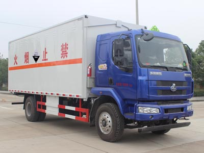 SCS5180XFWLZ型腐蚀性物品厢式运输车