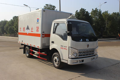 润之星牌SCS5030XZWSY型杂项危险物品厢式运输车