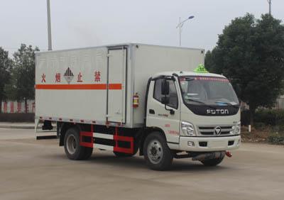 润之星牌SCS5130XZWBJ型杂项危险物品厢式运输车