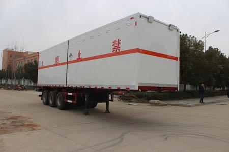 润知星牌SCS9400XZW杂项危险物品厢式运输半挂车
